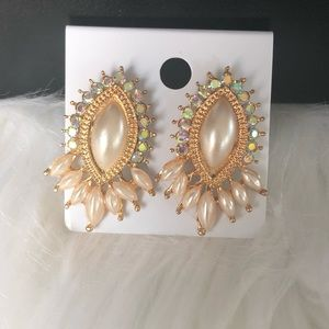 Foux Pearl Fashion Jewelry Earring NWT